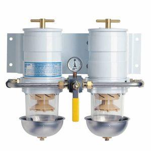 fuel filter for a diesel generator