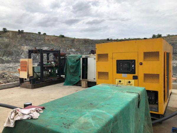 Mopane Mine 400kva John Deere, 250kva Volvo and 500kva Chinese generator Major Service
