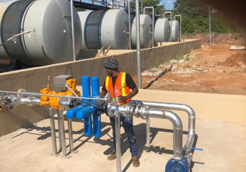 Kazungula Filling Station 110kva diesel generator and Filtration Installation